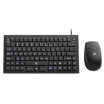 SMK Link VersaPoint DuraKey Industrial and Medical Grade Keyboard and Mouse, USB, Black