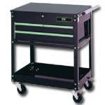 S K Hand Tools 3 Drawer Ball-Bearing Utility Cart