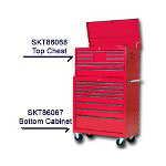 S K Hand Tools 8 Drawer Mobile Cabinet