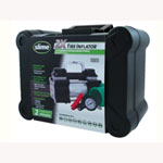 Slime Tire Inflator, 12 Volt, 22' Cord, with Twin Cylinders, LED Light, from Flat to Full in 2 Minutes