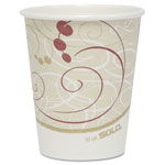 Solo 10 Oz Hot Paper Cups, Symphony Design, Pack of 50