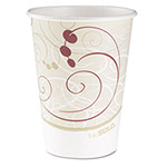 Solo 12 Oz Hot Paper Cups, Symphony Design, Case of 1000