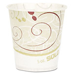 Solo Paper Water Cups, Waxed, 5 oz., 30 Bags of 100/Carton