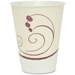 Solo Design Trophy Foam Hot/Cold Drink Cups, 12 oz., Beige, 100/Pack