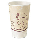 Solo Foam Hot/Cold Drink Cups, 16-oz., Beige