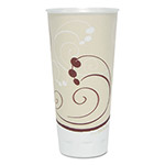 Solo Symphony Trophy Plus Dual Temperature Cups, 22 oz, Beige, 750/Carton