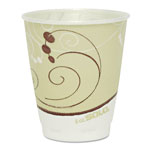 Solo Symphony Design Trophy Foam Hot/Cold Drink Cups, 8oz, Beige, 1000/Carton