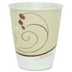 Solo Design Trophy Foam Hot/Cold Drink Cups, 8 oz., Beige, 100/Pack