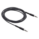 Smead MOS Spring Audio Cables, 6 ft, Black