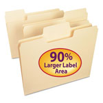 Smead Recycled Supertab Top Tab File Folders, Letter Size, 1/3 Cut