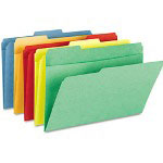 Smead Pocket Folders, 1/3 Cut, Top Tab, Letter, Assorted, 25/Box