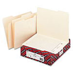 Smead Viewable Label File Folders, 11 pt. Manila, 1/3 Cut, Letter, 100/Box