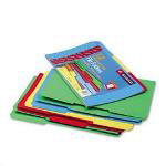 Smead Recycled File Folders, Double Pli Top, 1/3 Cut, Legal, Assorted Colors, 12/Pack