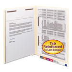 "Smead End Tab Folders, 3/4"" Expansion, 2 Fasteners (Cover/Spine), Letter Size, 50/Box"
