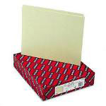 Smead Recycled Green Pressboard File Guides, 1/5 Cut, Blank Self Tabs, Letter, 100/Box