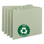Smead Recycled Top Tab File Guides, Daily, 1/5 Tab, Pressboard, Letter, 31/Set