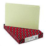 Smead Recycled Green Pressboard File Guides, 1/5 Cut, Blank Self Tabs, Legal, 50/Box