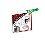 Smead Color Coded Barkley Compatible Alpha Labels, 1 1/2wx1h, Ltr E, Green, 500/Box