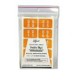 Smead Double Digit Numerical End Tab Label Assortment, 00 99 (5 of Each), 500/Pack