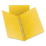Smead Side Opening Pressboard Report Cover, Yellow, Each