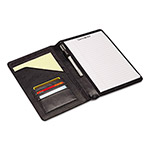 Samsonite Padfolios, Jr. Bi-Fold Closure, 5 1/2 x 8, Black