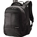 "Samsonite Classic Perfect Fit Backpack, 9.3"" x 17.8"" x 12.5"", Black"
