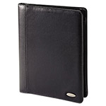 Samsonite Padfolios, Bi-Fold Closure, 8 1/2 x 11, Black