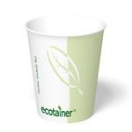 ecotainer Paper Hot Cup, 8 oz.