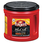 Folgers Coffee, Black Silk, 27.8 oz Can