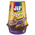 Smucker's Jif To Go® Dippers, Chocolate Silk w/Pretzels, 1.69 oz Cup, 8/Carton
