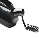 Softalk Detangler with Coiled, 25 Foot Phone Cord, Black