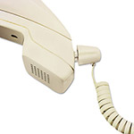 Softalk Detangler with Coiled, 25 Foot Phone Cord, Ivory