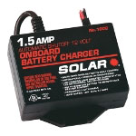 Solar 1.5 Amp 12 Volt Automatic On-Board Charger