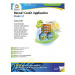 Socrates Media Rental/Credit Application Real Estate Forms, 11 x 8 1/2, 4 Forms per Pack
