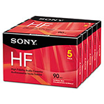 Sony High Fidelity Audio Cassette, Normal Bias, 90 Minutes (45 x 2)