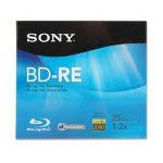 Sony BD-R Blu-Ray Disc, Rewritable, 72mbps, 25GB, Branded