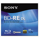 Sony BD-RE Dual Layer Rewritable Disc, 50GB, 2x