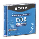Sony DVD-R, 2x, 1.4 GB, Single Sided