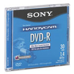 Sony Mini (8cm) DVD-R Disc, 1.4GB, 2x, With Jewel Case, Silver