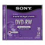 Sony DVD RW, 8cm, For Handy Video Cams