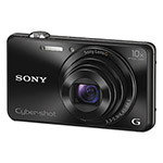 Sony DSC-WX220/B Compact Point and Shoot Digital Still Camera, Black