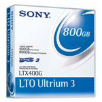 Sony LTO3 Ultrium Data Cartridge, 400GB/800GB