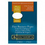 Southworth Fine Business Paper, 24 lb., A4 Size, 500/BXm, White