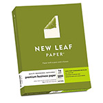 "Southworth New Leaf Premium Business Paper, 8 1/2""x11"", Natural, 24 lbs., 1 Ream"