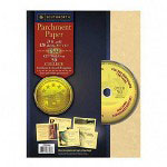 "Southworth Parchment Paper, With CD, 24LB, 8 1/2""x11"", 120/Pack, Gold"