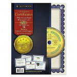 Southworth Foil Enhanced Certificates with CD, Silver Foil on Ivory Parchment, 15 per Pack