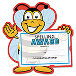 Southworth Motivations Spelling Bee Certificate Award Kit and Holder, 8.5 X 5.5, 10/pk