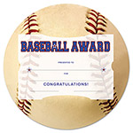 Southworth Motivations Baseball Sports Certificate Award Kit and Holder, 8.5 X 5.5, 10/pk