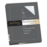 "Southworth Parchment Specialty Paper, Blue, 24 lbs., 8 1/2""x11"", 100 per Box"