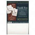 "Southworth ""Thank You"" Cards, White, 80/24 lb., 20/Box"